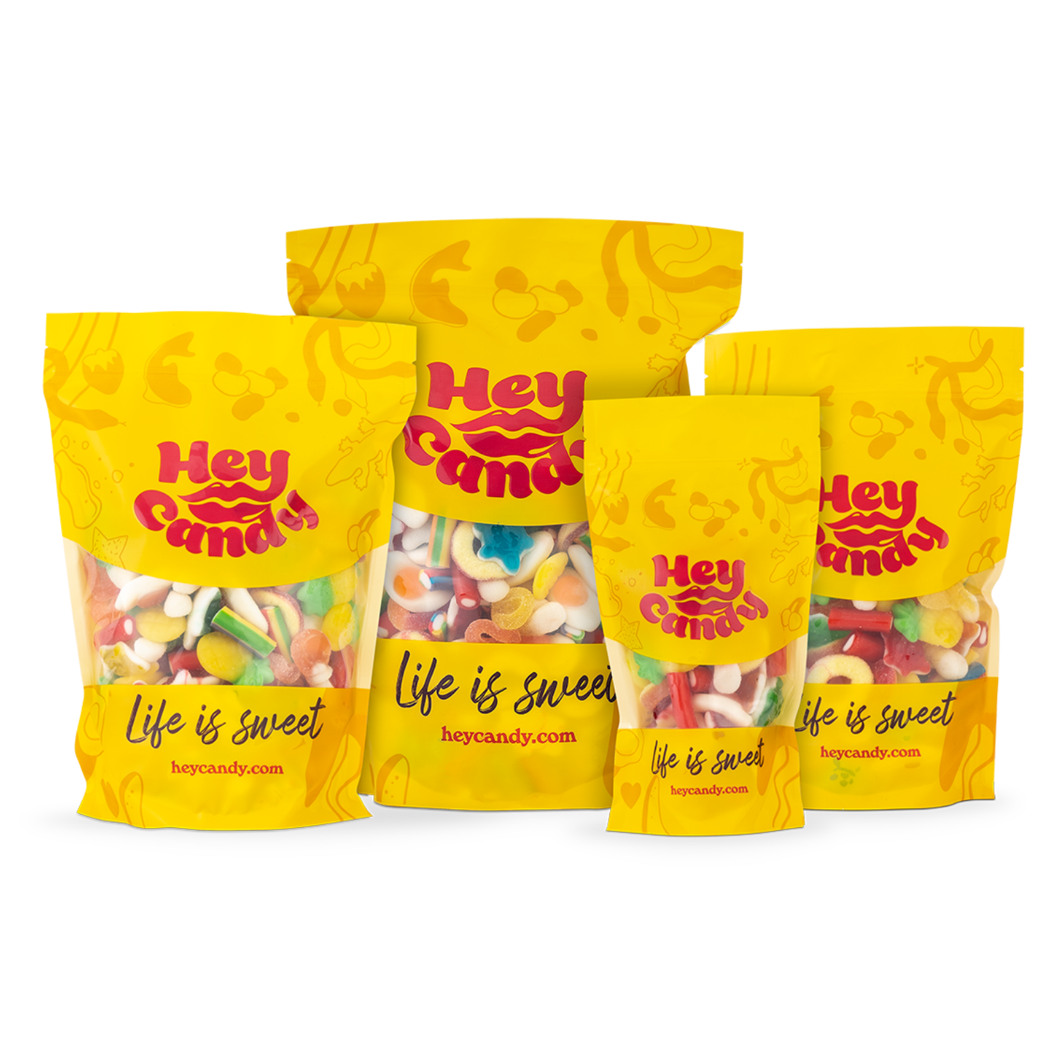 Hey Halal Pouch Collection